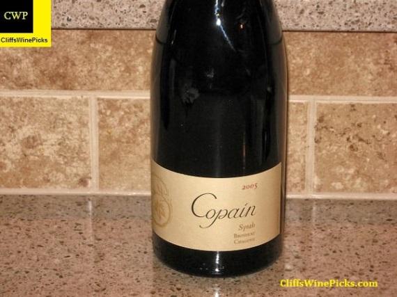2005 Copain Syrah Brosseau Vineyard