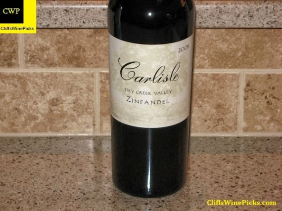 2008 Carlisle Zinfandel Dry Creek Valley