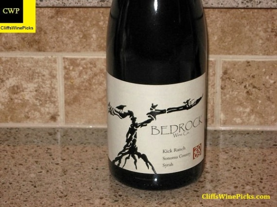 2009 Bedrock Wine Co Syrah Kick Ranch