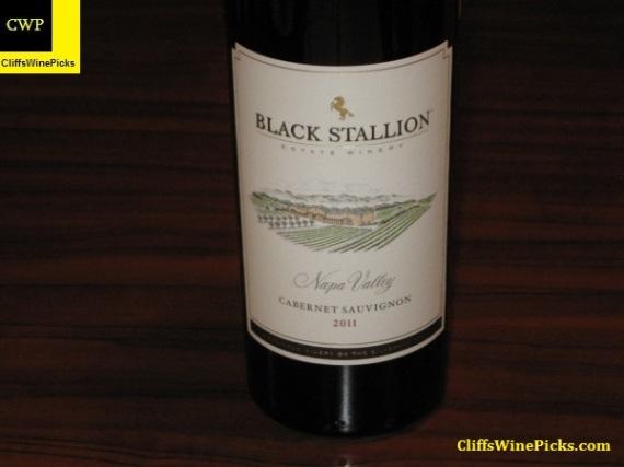 2011 Black Stallion Estate Winery Cabernet Sauvignon