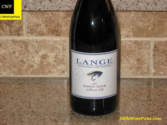 2011 Lange Pinot Noir Willamette Valley