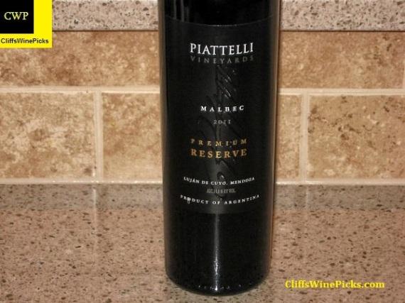 2011 Piattelli Malbec Premium Reserve