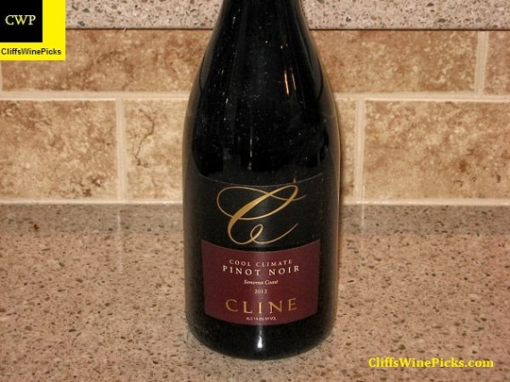 2012 Cline Cellars Pinot Noir Cool Climate