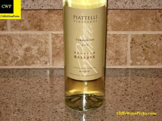 2012 Piattelli Torrontés Premium Reserve