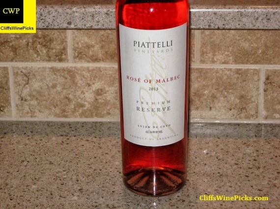 2013 Piattelli Malbec Rosé Premium Reserve