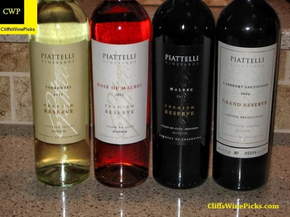 Piattelli Vineyards Line Up