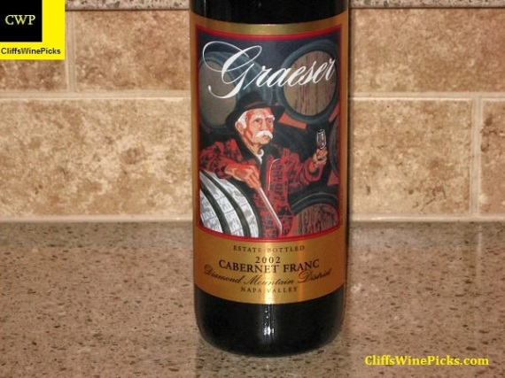 2002 Graeser Cabernet Franc Estate Grown