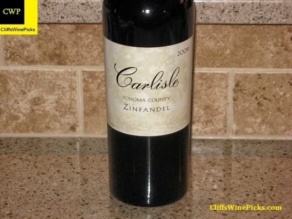 2009 Carlisle Zinfandel Sonoma County