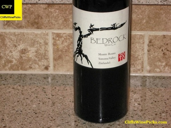 2010 Bedrock Wine Co. Zinfandel Monte Rosso Vineyard