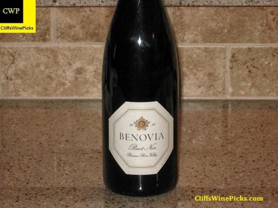 2010 Benovia Pinot Noir Russian River Valley