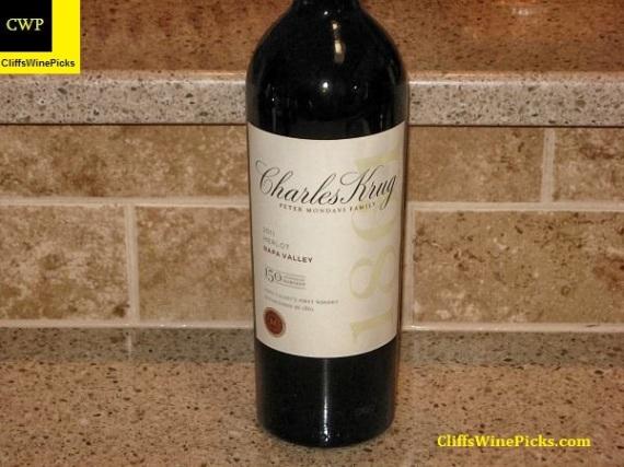 2011 Charles Krug Winery (Peter Mondavi Family) Merlot