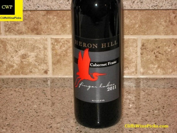 2011 Heron Hill Vineyards Cabernet Franc