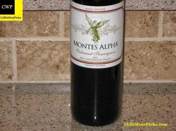 2011 Montes Cabernet Sauvignon Alpha