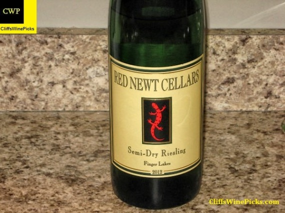 2012 Red Newt Cellars Riesling Semi-Dry