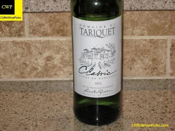 2013 Domaine du Tariquet Vin de Pays des Côtes de Gascogne Classic