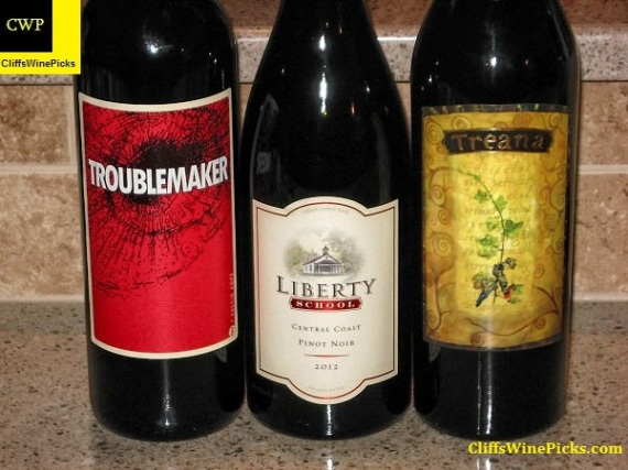 Hope Family Wines line up