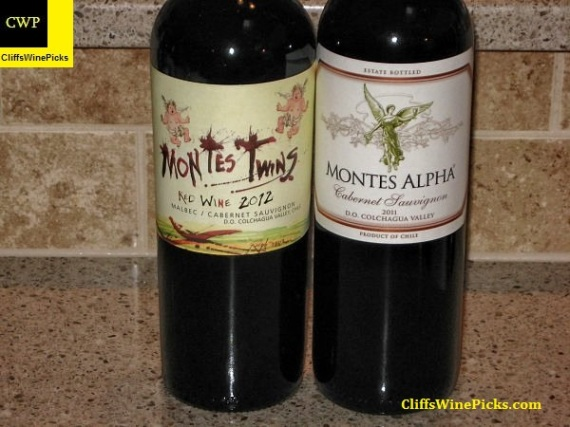 Montes Winery Lineup