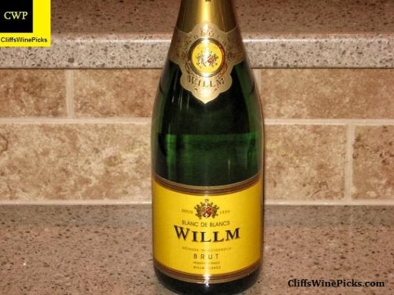 N.V. Willm Crémant d'Alsace Blanc de Blanc