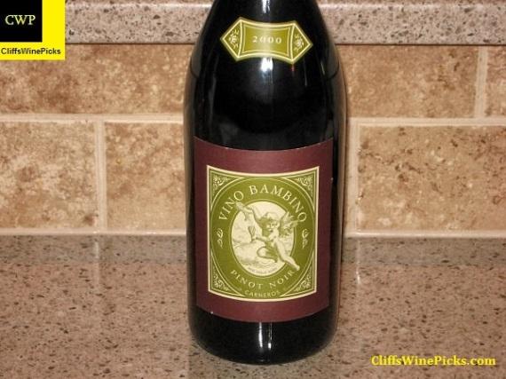 2000 Vino Bambino Pinot Noir (Bedrock)