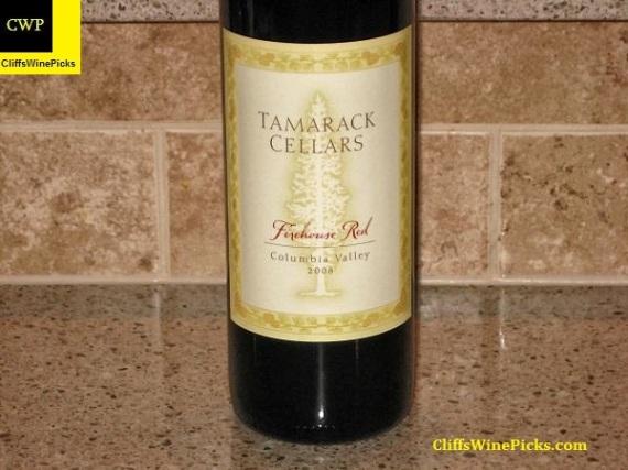 2008 Tamarack Cellars Firehouse Red