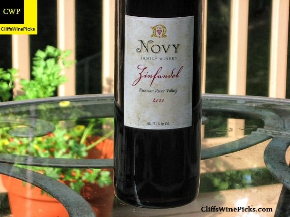 2010 Novy Family Wines Zinfandel Russian River Valley