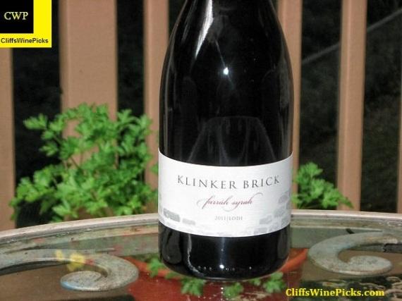 2011 Klinker Brick Syrah Farráh