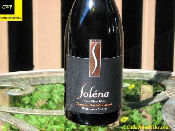2012 Soléna Pinot Noir Domaine Danielle Laurent