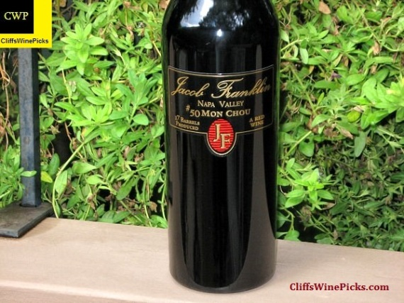 2007 Jacob Franklin Mon Chou #50 Napa Valley