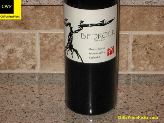 2011 Bedrock Wine Co. Zinfandel Monte Rosso Vineyard