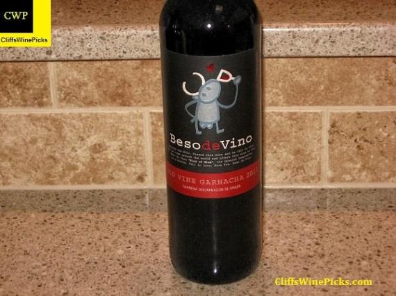 2011 Beso de Vino Cariñena Old Vine Garnacha