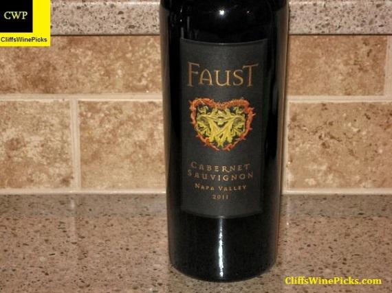 2011 Faust Cabernet Sauvignon
