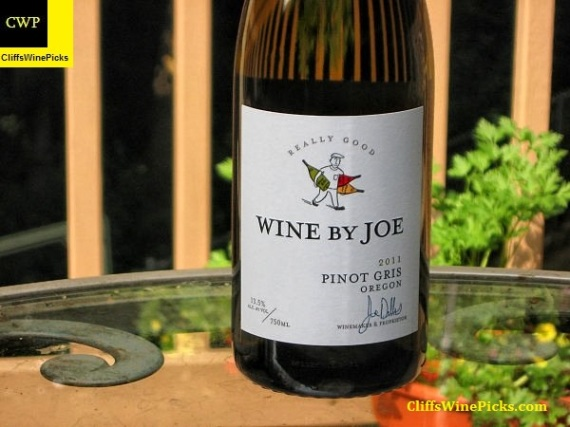 2011 Wine By Joe Pinot Gris Really Good