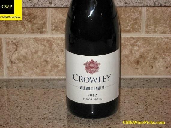2012 Crowley Pinot Noir