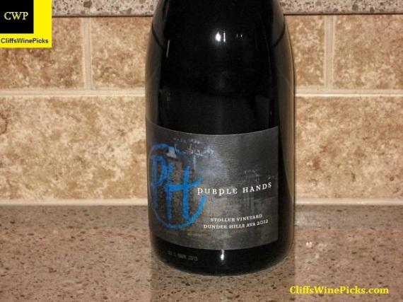 2012 Purple Hands Pinot Noir Stoller Vineyard