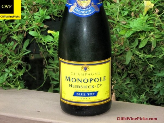 NV Heidsieck & Co Monopole Champagne Blue Top Brut