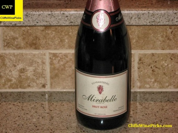 NV Schramsberg Vineyards Mirabelle Brut Rose