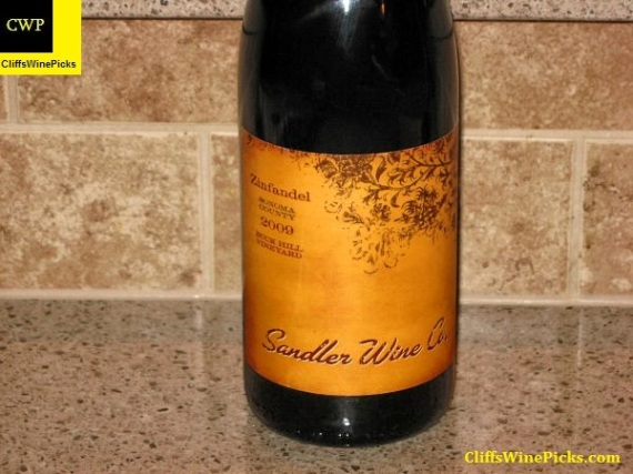 2009 Sandler Wine Company Zinfandel Buck Hill Vineyard