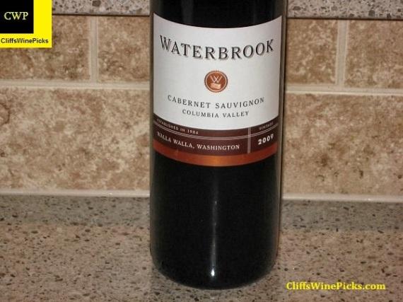 2009 Waterbrook Cabernet Sauvignon