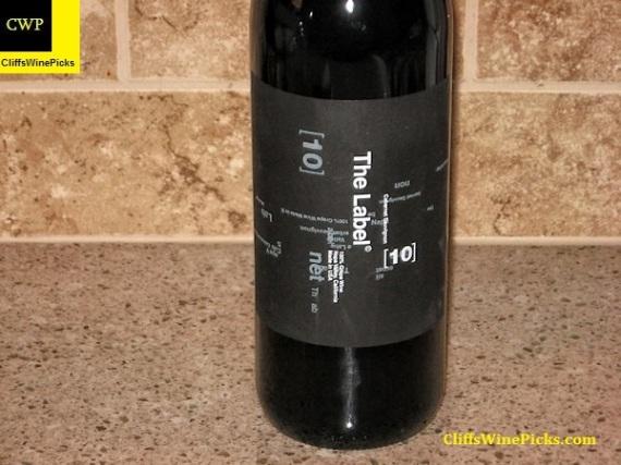 2010 Turley Cabernet Sauvignon The Label