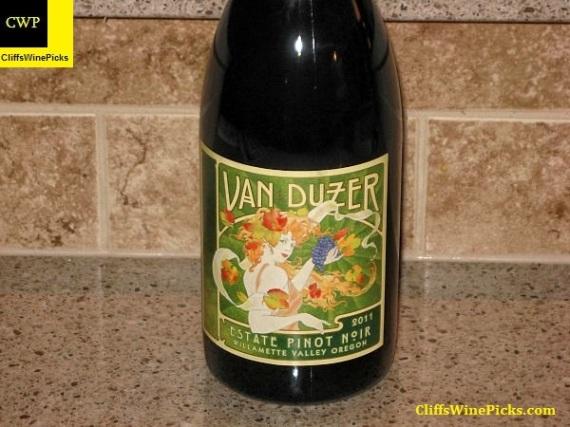 2011 Van Duzer Pinot Noir Estate