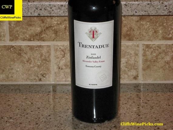 2012 Trentadue Winery Zinfandel