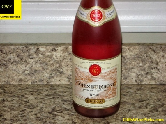 2013 E. Guigal Côtes du Rhône Rosé