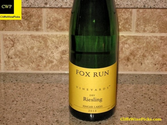 2013 Fox Run Vineyards Riesling Dry