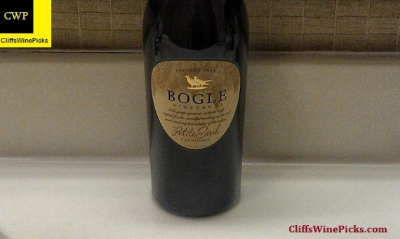 2012 Bogle Vineyards Petite Sirah