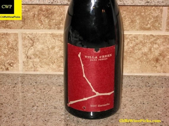 2007 Villa Creek Garnacha Denner Vineyard