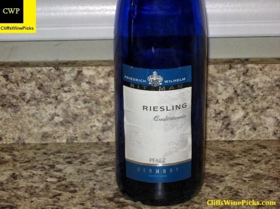 2008 Friedrich Wilhelm Ritzman Riesling Qualitätswein