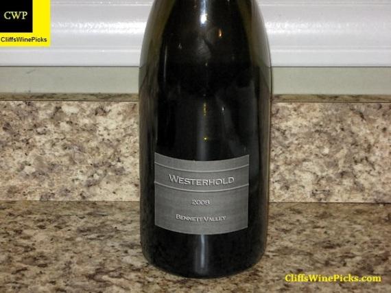 2008 Westerhold Family Vineyards Syrah Westerhold Vineyard