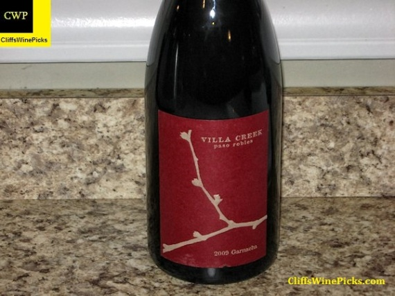 2009 Villa Creek Garnacha Denner Vineyard