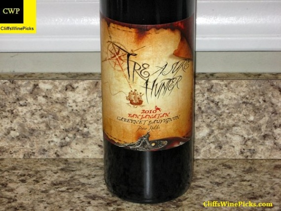 2010 Treasure Hunter Wines Cabernet Sauvignon Panjanatan Paso Robles