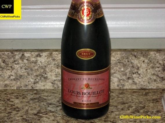 NV Louis Bouillot Crémant de Bourgogne Rosé Brut Perle d'Aurore